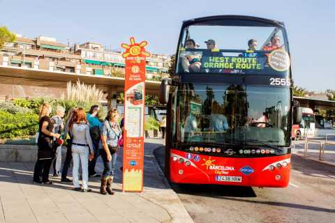Hop-On Hop-Off Barcelona City Tour 1 or 2 Day