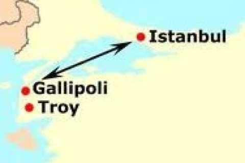 Ganztagstour ab Istanbul: Schauplatz Gallipoli-Feldzug