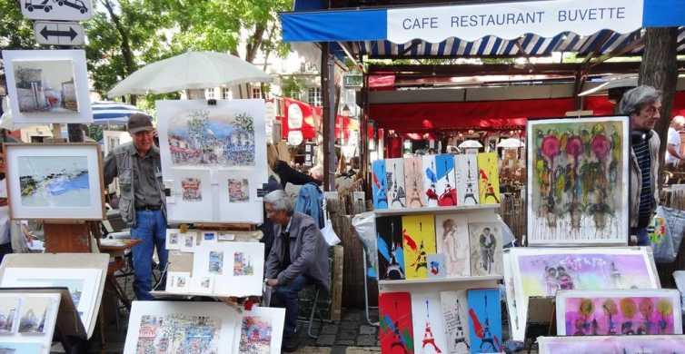 Paris Montmartre: 2-Hour Walking Tour in German