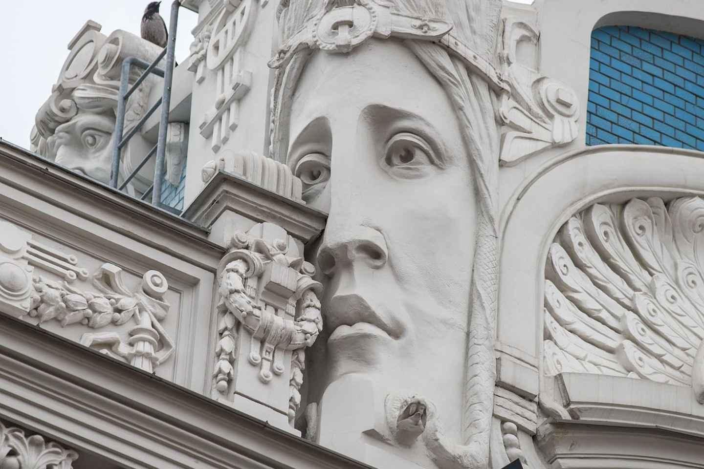 Riga: Rundgang durch die Jugendstil-Architektur