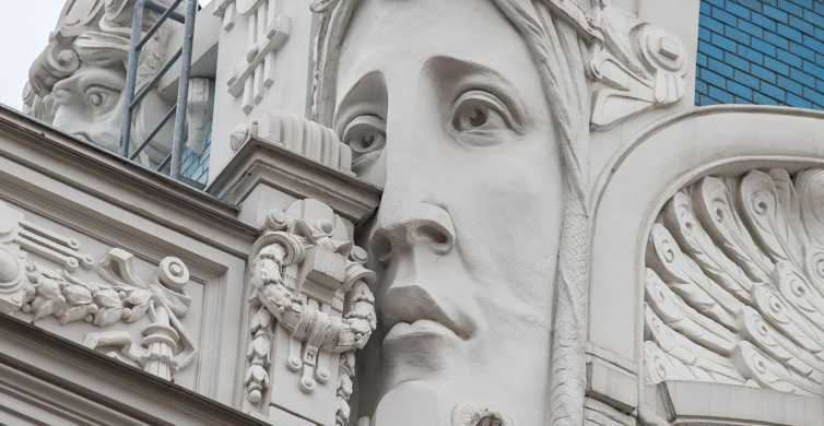 Walking Tour of Riga's Beautiful Art Nouveau Architecture