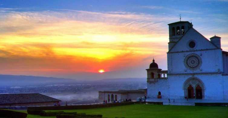 Città umbre: tour di 1 giorno da Perugia e Assisi