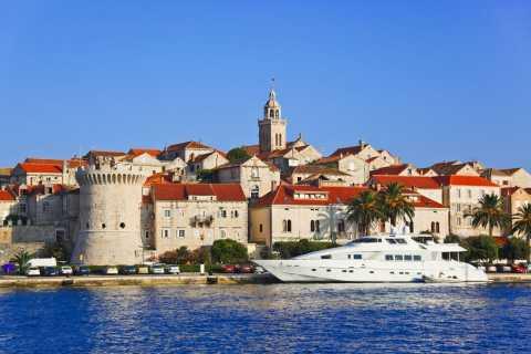 Depuis Dubrovnik: péninsule de Pelješac et île de Korčula