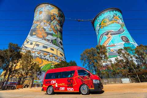 Johannesburg Hop-On Hop-Off Bus Ticket and Soweto Tour