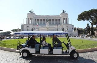 Rom: 3-stündige Stadtführung im Golfwagen