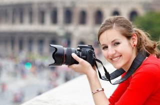 Rom: Persönliches Fotoshooting mit Profikamera