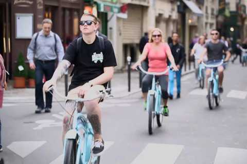 Paris à vélo en dehors des sentiers battus (4 heures)