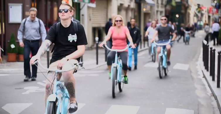 Paris 4-Hour Bike Tour: Off the Beaten Path