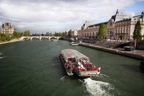 Parijs: stadsrondleiding met luxe minibus & boottocht Seine