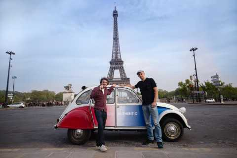 Paris: Classic Sites Tour by Vintage Citroen 2CV
