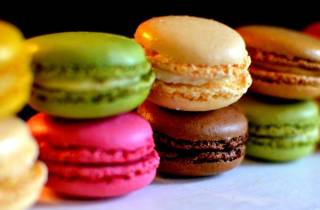 Paris: Macarons-Backstunde und Take-Away-Box