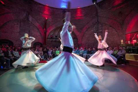 The Whirling Dervishes Show at the HodjaPasha Culture Center