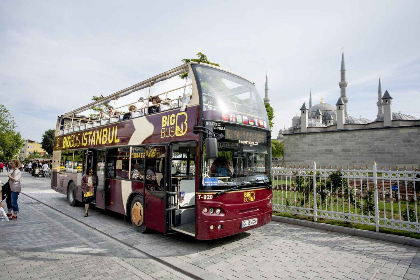 Istanbul: Hop-On/Hop-Off-Bustour