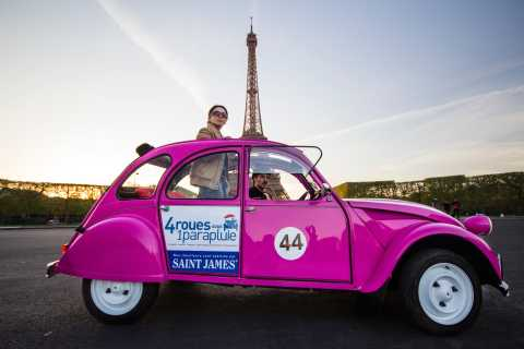 Private and Personalized Paris Tour in a Citroën 2CV