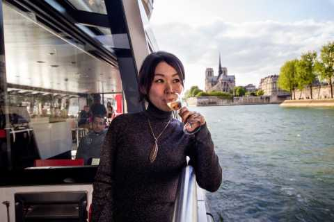 Paris: 1-Hour Seine River Champagne Cruise with 3 Tastings