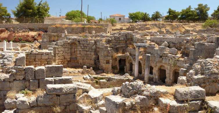 Ab Athen: Halbtägige Kleingruppentour nach Korinth