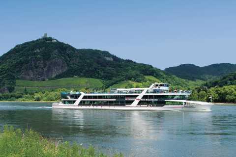 Köln bis Königswinter: Schifffahrt durchs Siebengebirge