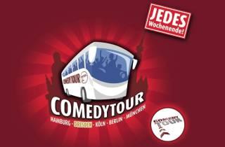 Dresden: Tour im Comedy-Bus auf Deutsch