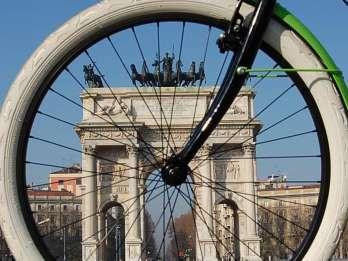 Entdecken Sie Mailand: 3,5 Stunden Radtour