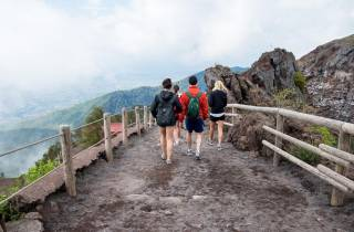 Ab Neapel: Tagestour Ruinen von Pompeji & Vesuv