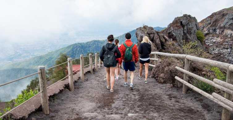 De Nápoles: Excursão de 1 Dia a Pompeia e Monte Vesúvio