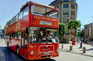 Hamburg Entdecken: Bustour mit Hafen und Alster-Bootsfahrt