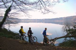 Rom: Appian Way & Albano Lake: Ganztägige E-Bike-Tour