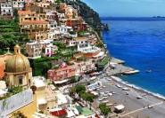 Ab Rom: Tagestour an die Küste von Positano und Amalfi