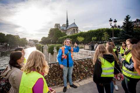 Paris Night Bicycle Tour & River Cruise