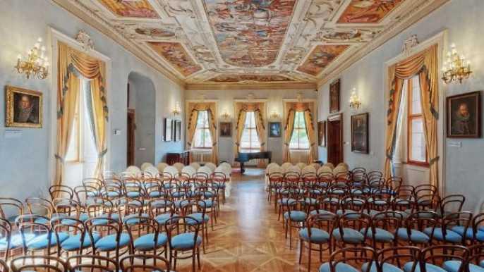 Concierto a medio día en el palacio de Lobkowicz