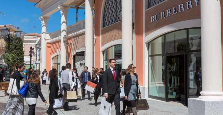 Roma: Dia de Compras no Outlet Castel Romano