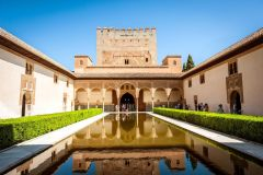 Sem Fila: Excursão Guiada Alhambra e Palácios Nasridas