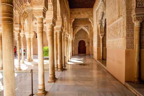 Alhambra & Generalife Tour including Transport & Admission