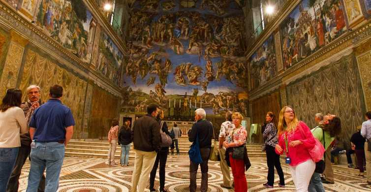 Pequeno Grupo: The Complete Vatican Tour