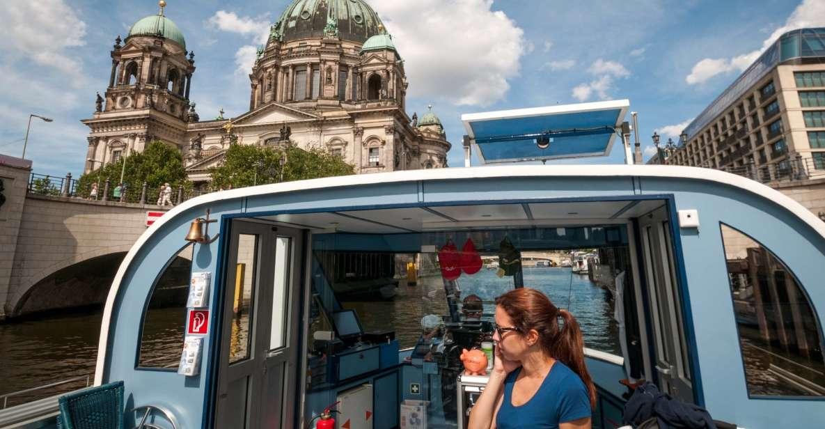 Berlín: tour de 1 hora en barco con asiento garantizado