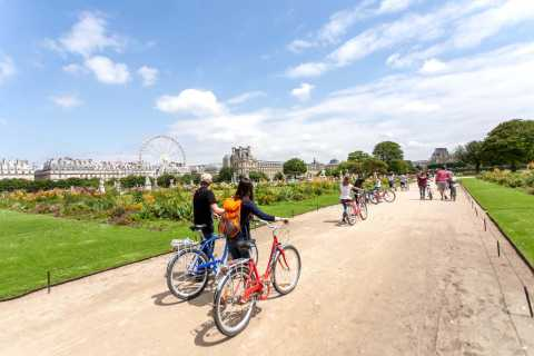 Paris: Tour Eiffel et monuments connus, visite à vélo