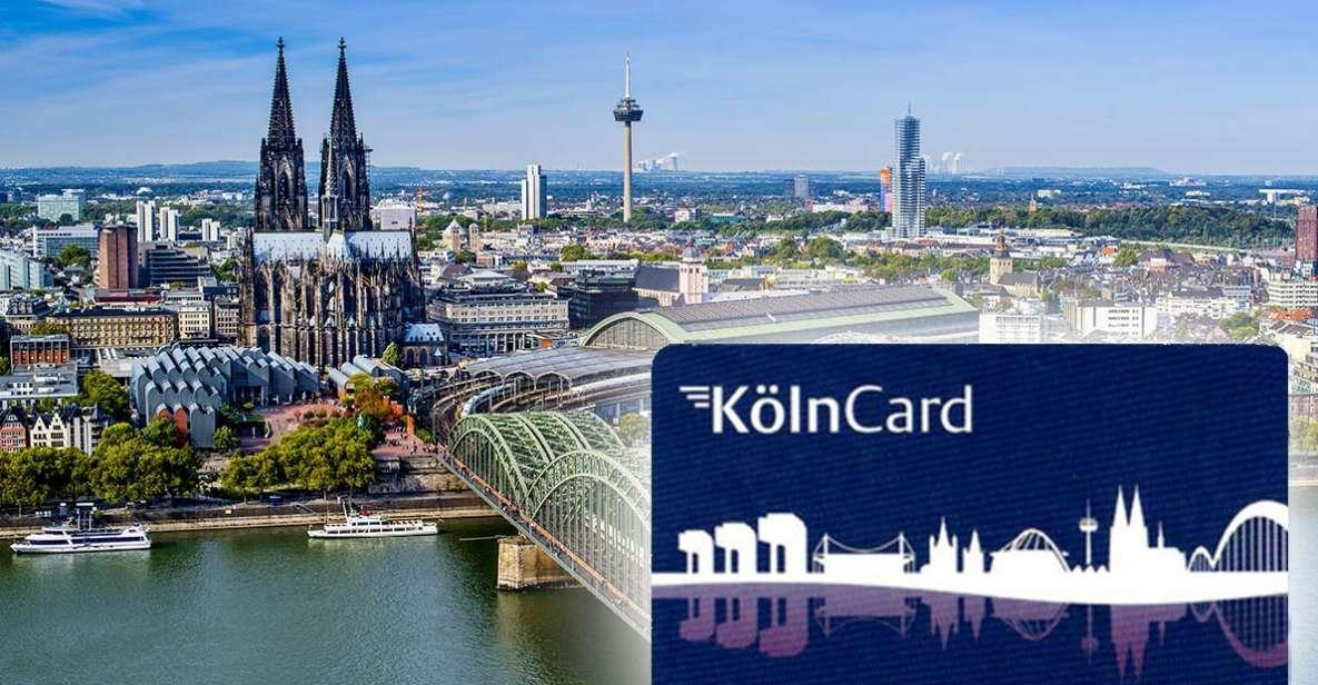 Beleef Keulen met de KölnCard