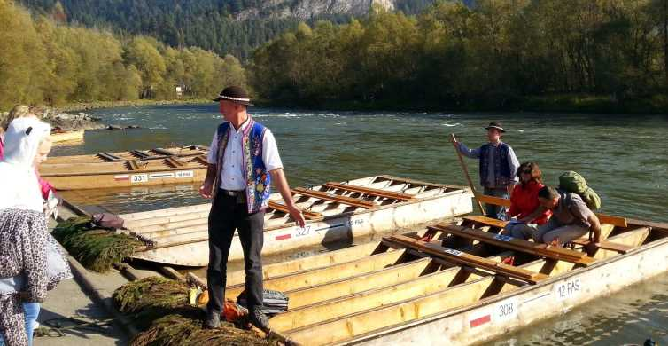 Dunajec River Full-Day River Rafting Tour from Krakow