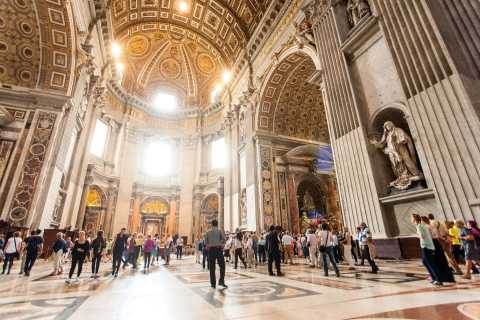Entire Vatican & Catacombs: Treasures of the Sistine Chapel