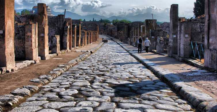 Pompeii & Amalfi Coast Day Tour from Naples with Lunch