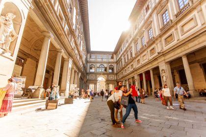 Florenz: Uffizien ...