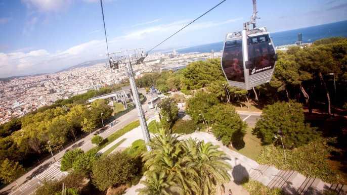 Barcelona's Montjuïc Cable Car Ride: Round Trip Ticket