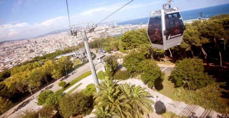 Barcelona's Montjuïc Cable Car Ride: Round Trip Ticket