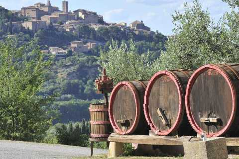 Tuscan Wine Tasting Tour of Montepulciano and Pienza