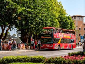 Palma de Mallorca: 24 oder 48 Stunden Hop-On/Hop-Off-Bustour