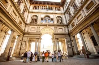 Florenz: Stadtrundgang & Uffizien ohne Anstehen