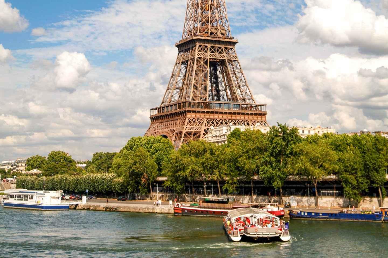 Paris: Direkter Einlass zum Eiffelturm & Seine-Bootsfahrt
