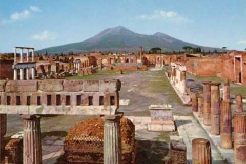 Nápoles: Pompeya y tour de 1 día de cata de vinos