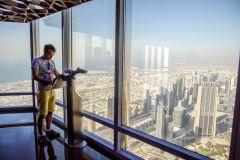 Ingresso e Tour Burj Khalifa: Pisos 124, 125 e 148