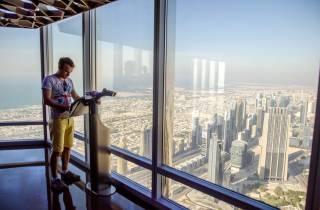 Dubai: Burj Khalifa Ticket 124., 125. & 148. Stock & Führung